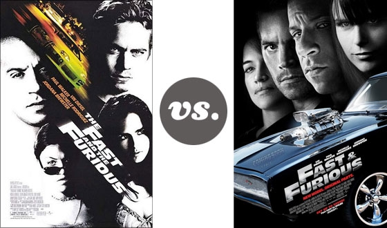 One on One &#8211; <i>The Fast and the Furious</i> Versus <i> Fast &#038; Furious</i>