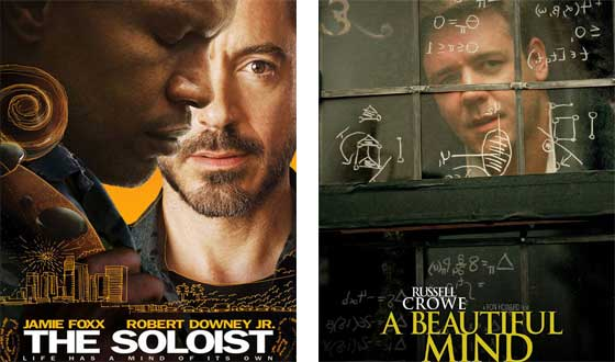Now or Then – <i>The Soloist</i> or <i>A Beautiful Mind</i>?
