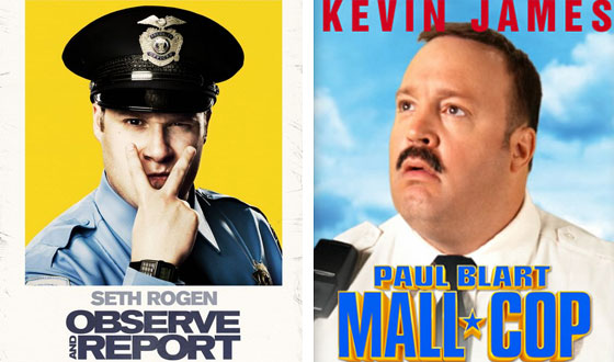 Now or Then &#8211; <i>Observe and Report</i> or <i> Paul Blart: Mall Cop</i>?