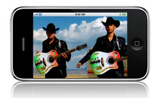 "iPhone Exclusive – ""Negro Y Azul"" Behind-the-Scenes Video"