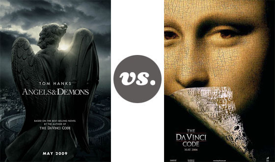One on One – <em>Angels & Demons</em> Versus <em>The Da Vinci Code</em>