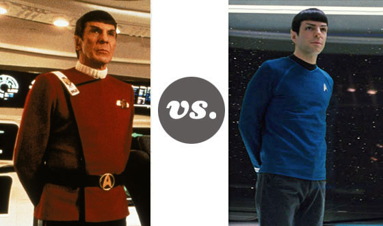 One on One – Old Spock Versus New Spock