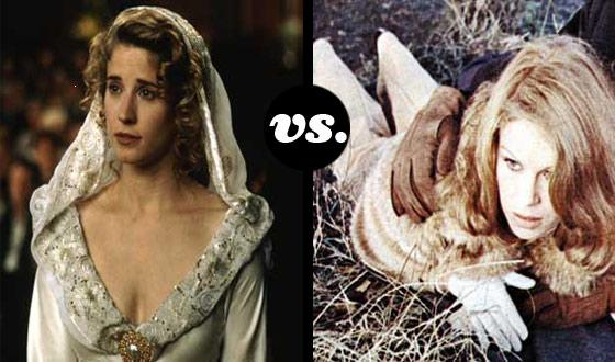 Horror Brides Tourney, Round One: <em>So I Married an Ax Murderer</em> (No. 7) vs. <em>The Satanic Rites of Dracula</em> (No. 10)