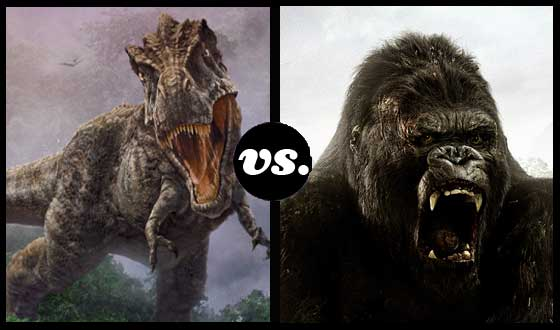 <i>Land of the Lost</i>&#8216;s T-Rex Is Out to Kill Kong in a Tourney of Prehistoric Beasts
