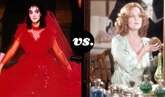 Horror Brides Tourney, Round Two: <em> Beetlejuice</em> (No. 6)</em> vs. <em>Young Frankenstein</em> (No. 14)