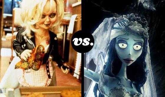Horror Brides Tourney, Round Two: <em>Bride of Chucky</em> (No. 4) vs. <em>The Corpse Bride</em> (No. 8)