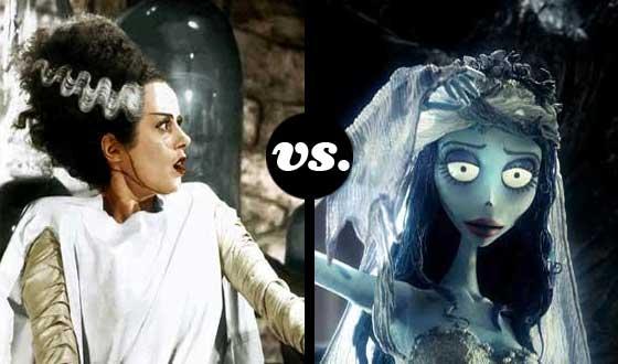 Horror Brides Tourney, Semifinals &#8211; <em>Bride of Frankenstein</em> (No. 1) vs. <em>The Corpse Bride</em> (No. 5)