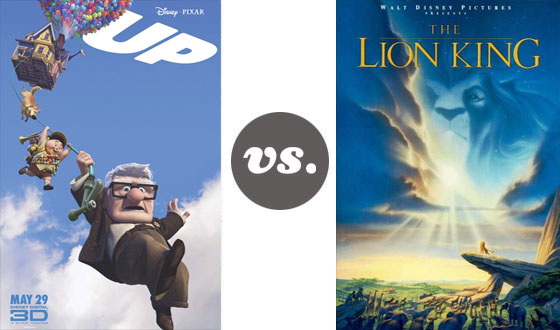One on One – Pixar Versus Classic Walt Disney