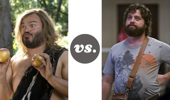 One on One – Jack Black Versus Zach Galifianakis