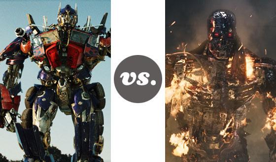 One on One – Transformers Versus Terminators