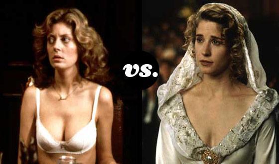 Horror Brides Tourney, Round Two: <em>The Rocky Horror Picture Show</em> (No. 2)</em> vs. <em>So I Married an Axe Murderer</em> (No. 7)