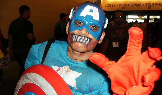 Top Five Geektastic Moments From Comic-Con