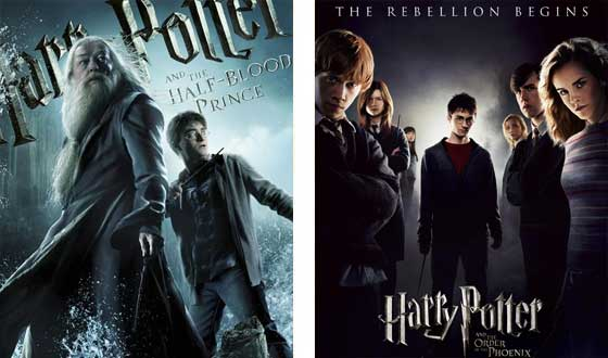 Now or Then – <i>Harry Potter and the Half-Blood Prince</i> or <i>Harry Potter and the Order of the Phoenix</i>?