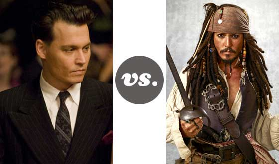 One on One – Straight Johnny Depp Versus Eccentric Johnny Depp