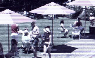 TheVillageWiki.org Posts Footage of People Relaxing by Pool