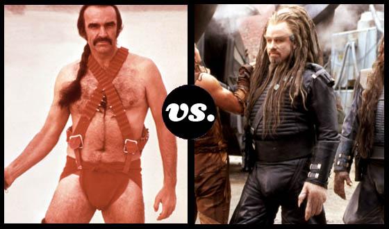 Who Wears It Worst &#8211; <em>Zardoz</em>&#8216;s Zed or <em>Battlefield</em>&#8216;s Terl?