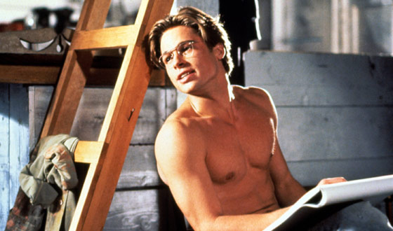 Glorious Bastard – Brad Pitt's Sexiest Shirtless Scenes
