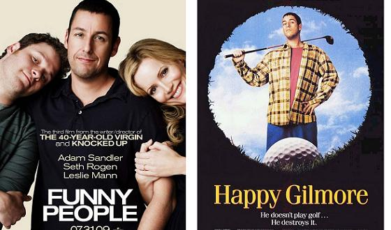 Now or Then – <i>Funny People</i> or <i>Happy Gilmore</i>?