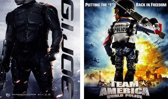 Now or Then – <i>G.I. Joe</i> or <i>Team America: World Police</i>?
