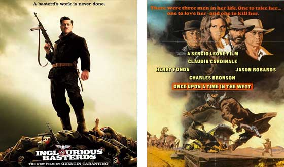 Now or Then &#8211; <i>Inglourious Basterds</i> or <i>Once Upon a Time in the West</i>?