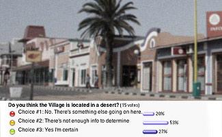 The Village Remains Unlocatable
