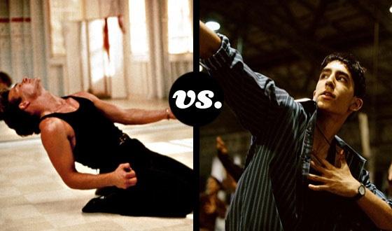 What a Feeling! It's Patrick Swayze vs. Dev Patel in a Best Dancers Tourney
