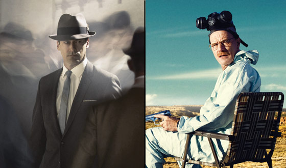 <em>Mad Men</em> and <em>Breaking Bad</em> Each Nab a Creative Emmy Award