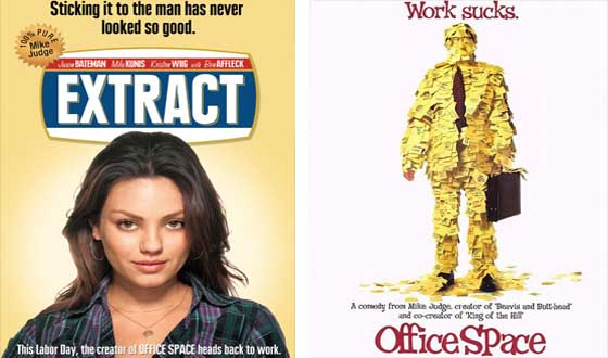 Now or Then – <i>Extract</i> or <i>Office Space</i>?