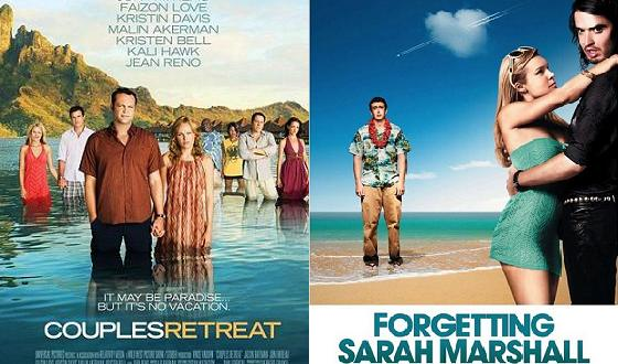 Now or Then – <i>Couples Retreat</i> or <i>Forgetting Sarah Marshall</i>?