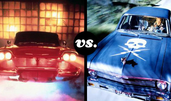 Christine Challenges <em>Death Proof</em>'s Charger in a Tournament of Auto Terror