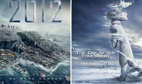 Now or Then – <em>2012</em> or <em>The Day After Tomorrow</em>?