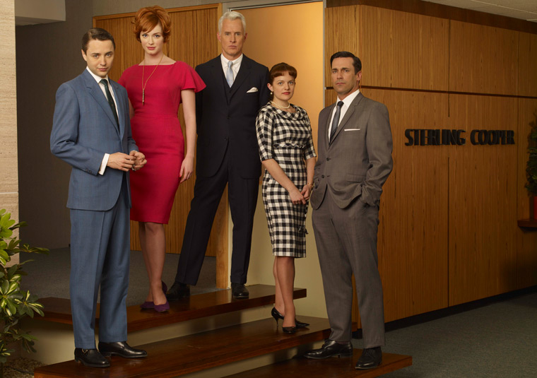 Mad Men Season 2 Studio Photos