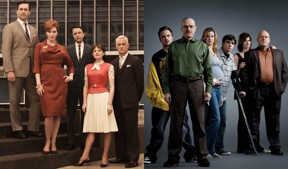 AMC&#8217;s <em>Mad Men</em> and <em>Breaking Bad</em> Receive Five WGA Noms