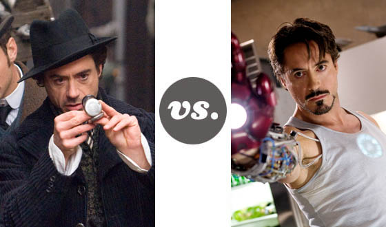 One on One – Downey Jr.'s <em>Sherlock Holmes</em> Versus Downey Jr.'s <em>Iron Man</em>