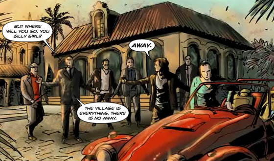 Check Out Chapter Six of AMC's <em>The Prisoner</em> Graphic Novel