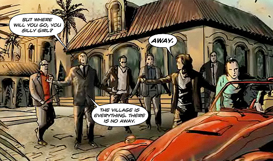 Chapter Six of <em>The Prisoner</em> Graphic Novel Now Online