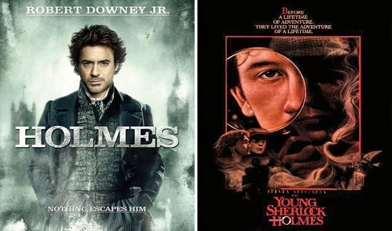 Now or Then – <em>Sherlock Holmes</em> or <em>Young Sherlock Holmes</em>?