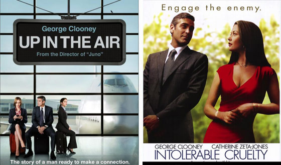 Now or Then &#8211; <em>Up in the Air</em> or <em>Intolerable Cruelty</em>?