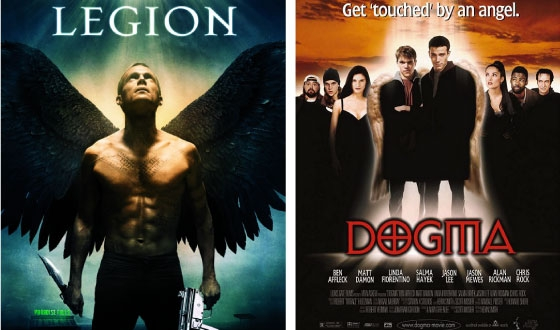 Now or Then – <em>Legion</em> (2010) or <em>Dogma</em> (1999)?