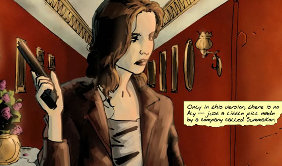 Chapter Nine of <em>The Prisoner</em> Graphic Novel Is Now Online