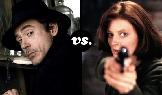 Panache (Robert Downey Jr.) Meets Perserverance (Jodie Foster) in a Tourney of Movie Detectives