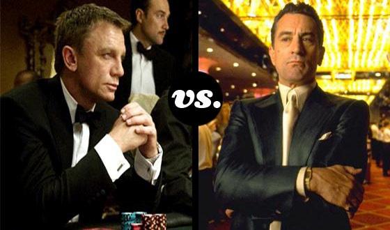 If You Had to Bet, Who'd Win at Poker? <em>Casino Royale</em>'s Daniel Craig or <em>Casino</em>'s Robert De Niro?