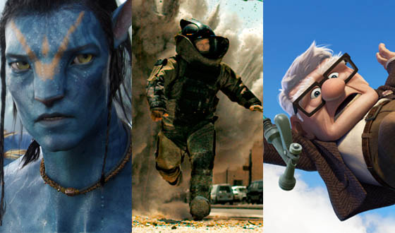<em>Avatar</em>, <em>The Hurt Locker</em> and <em>Up</em> Lead Oscar Nominations