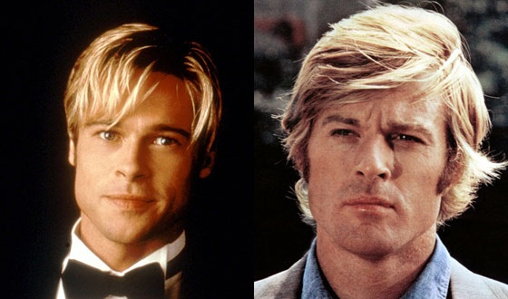 It's '70s Déjà Vu With Brad Pitt/Robert Redford and Kate Hudson/Goldie Hawn