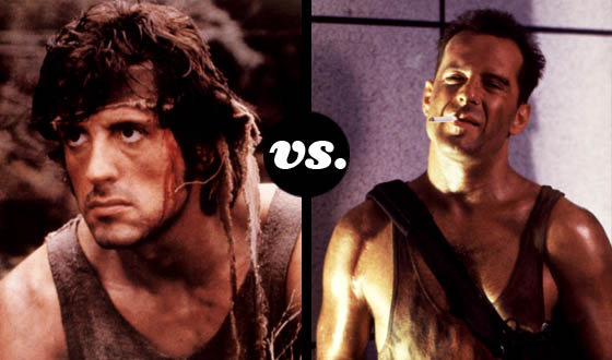 <em>First Blood</em>'s Rambo and <em>Die Hard</em>'s McClane Go Sneer to Sneer in a Tourney of Bad Attitudes