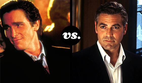 Lady-killers Tournament Finds Bale and Clooney Competing for Your Heart