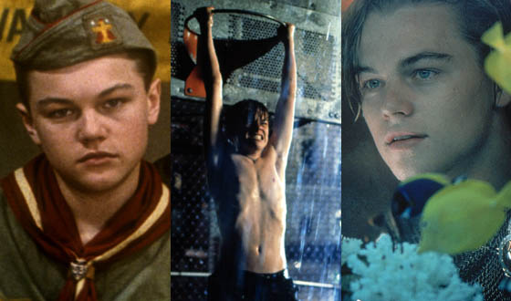 Flashback Five – Leonardo DiCaprio's Early Years