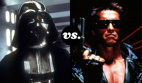 Darth Vader and the Terminator Duke It Out in This Tourney of SciFi Bad Boys