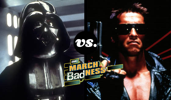 Sci-fi Stalwarts Darth Vader and the Terminator Battle It Out, Tournament-Style