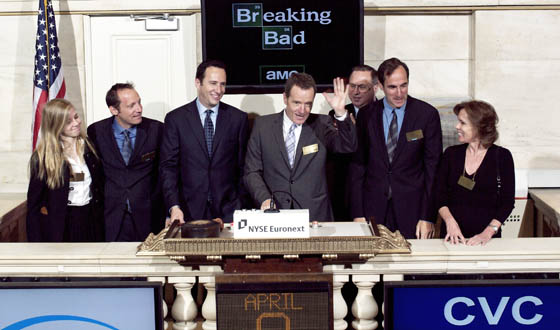 Bryan Cranston Rings NYSE Opening Bell